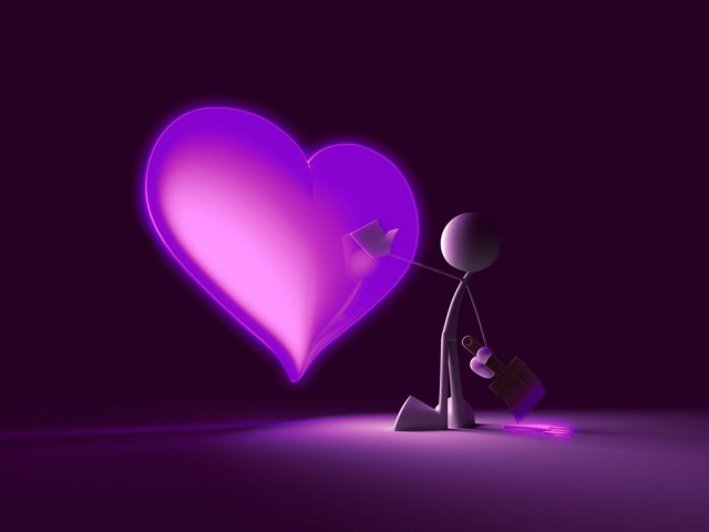 3D Love Animated PPT Backgrounds