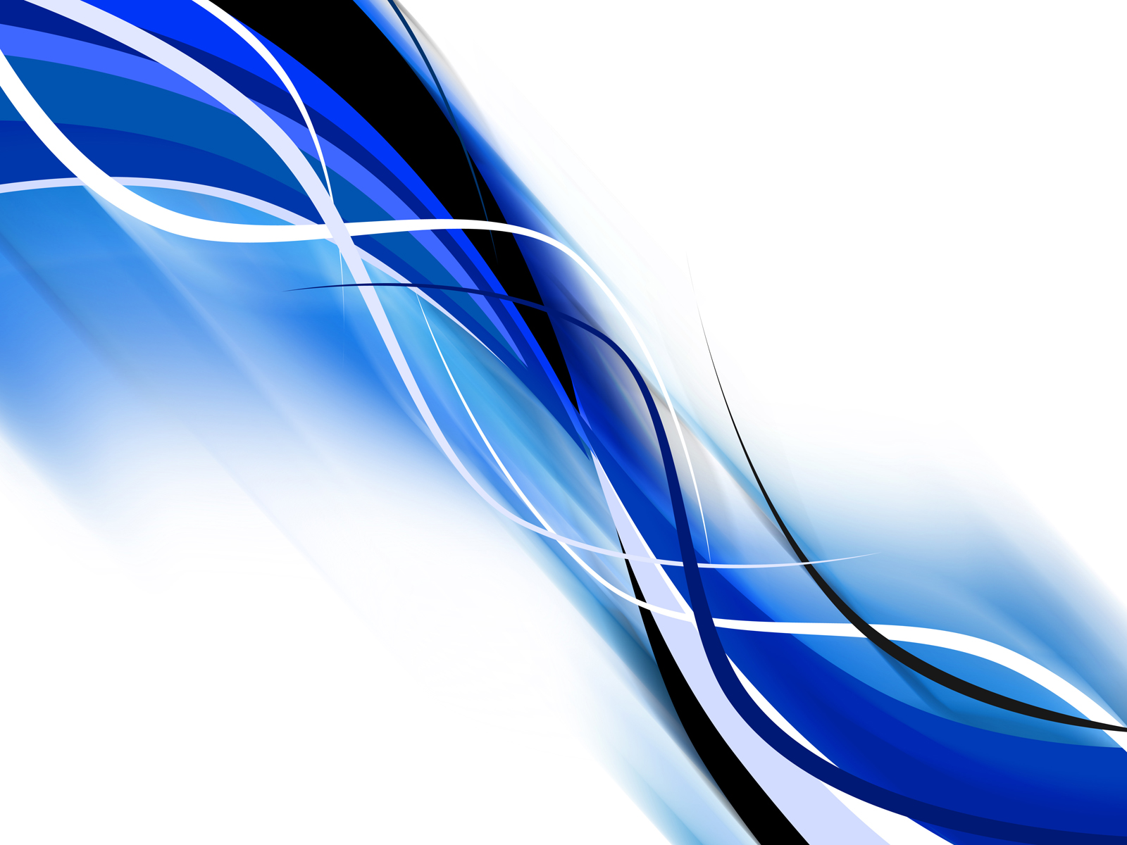 Blue coloured waves PPT Backgrounds
