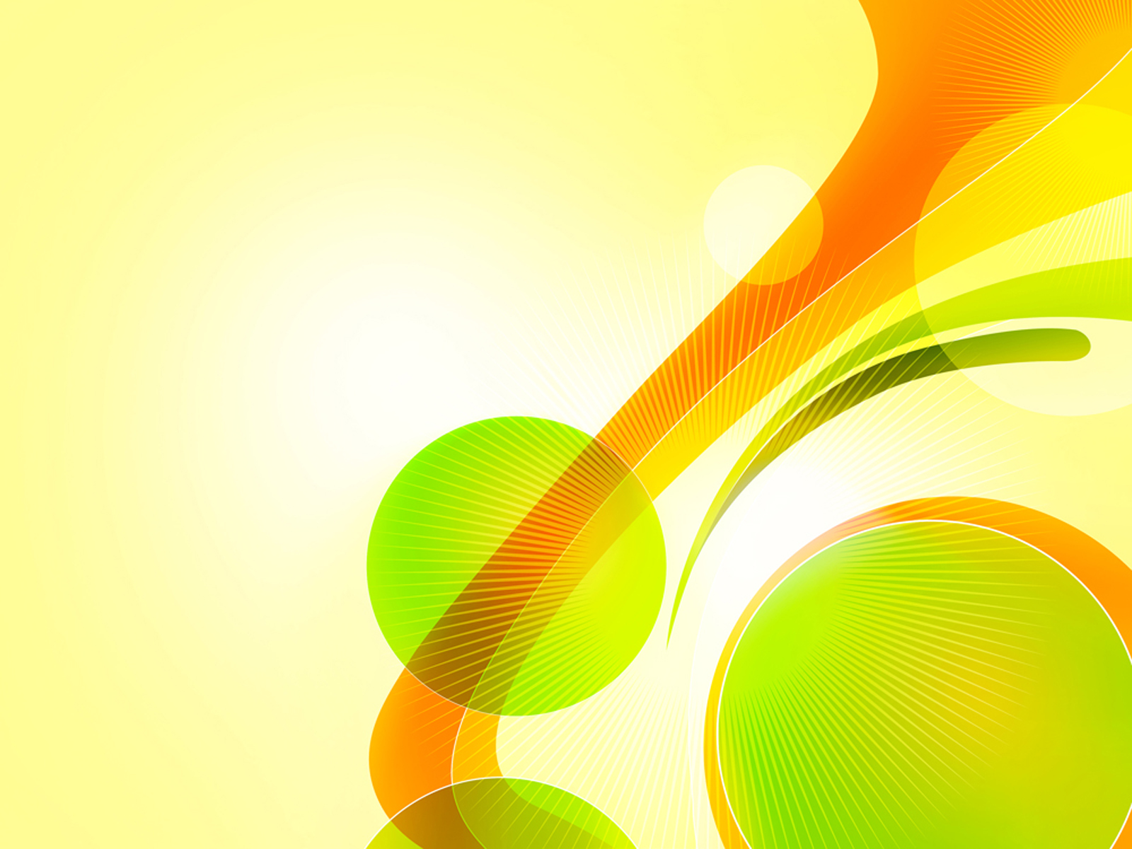 Circles and Swirls PPT Backgrounds