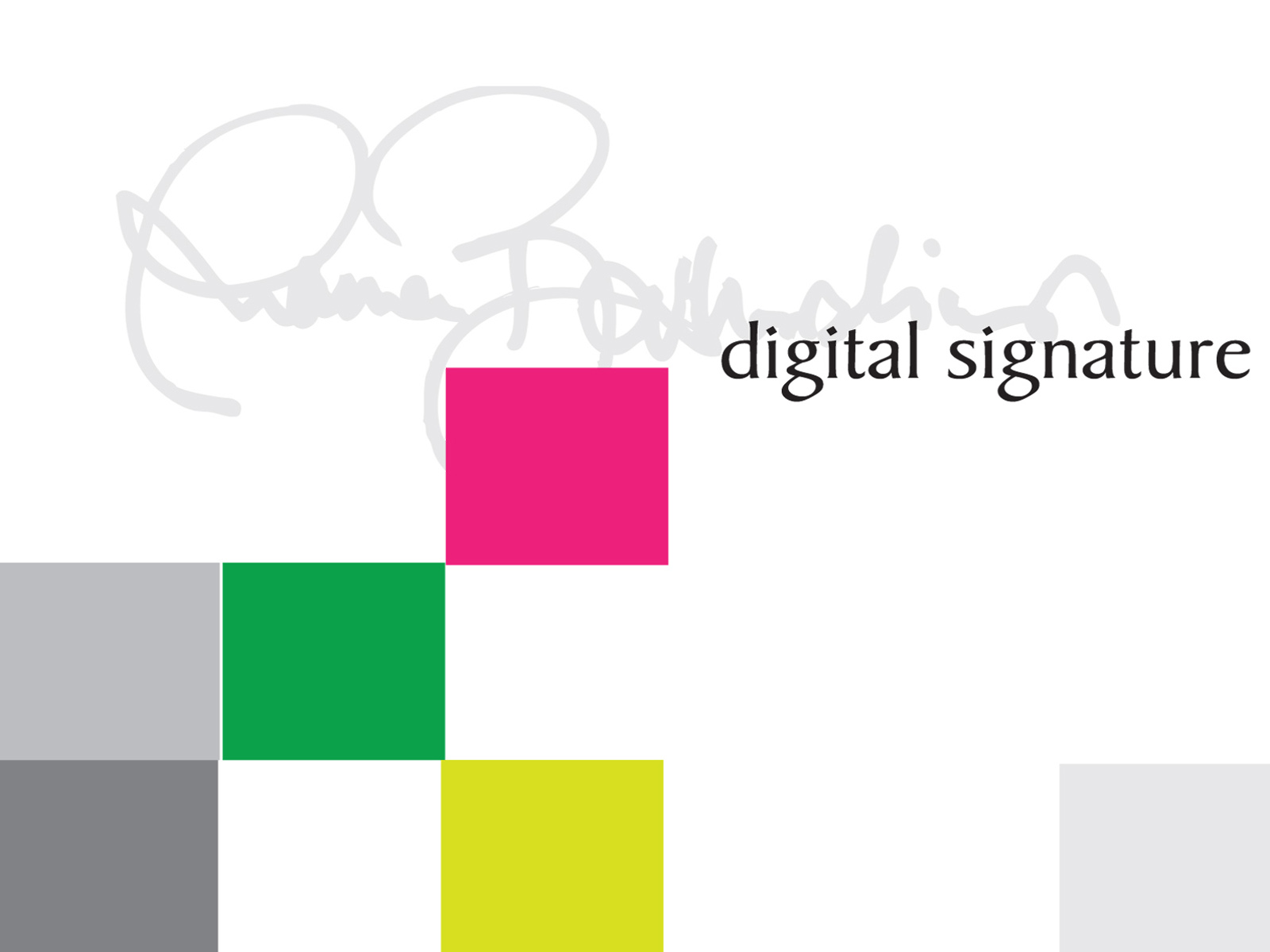 Digital Signature PPT Backgrounds