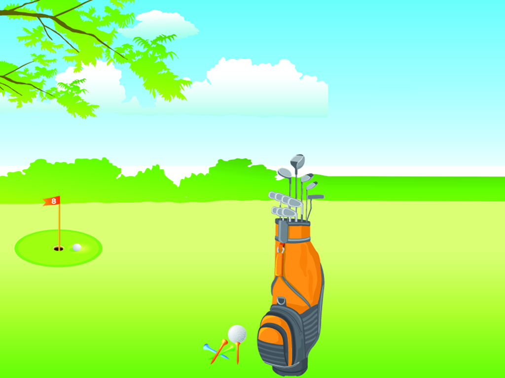 Golf Course PPT Backgrounds