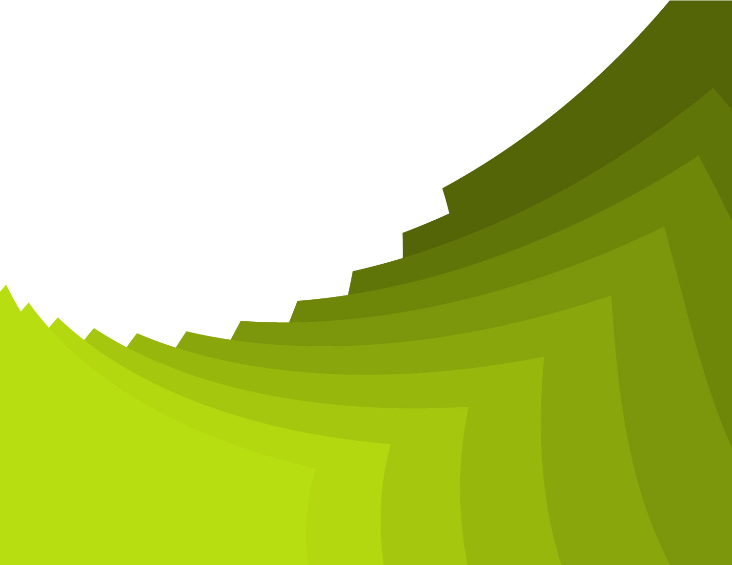 Green stacking paper vector PPT Backgrounds