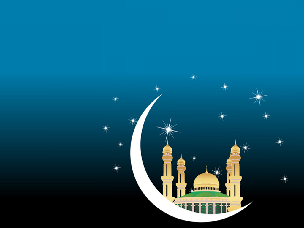 Free Islam Mosque Background for Powerpoint Slides