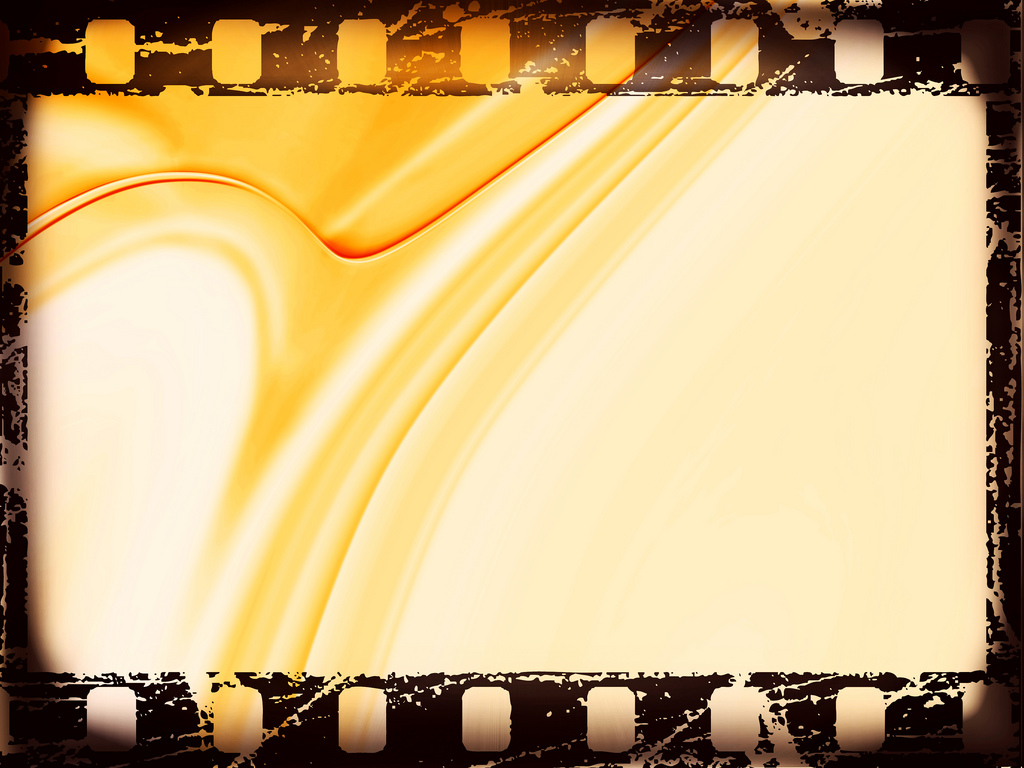 Movie film strips design PPT Backgrounds