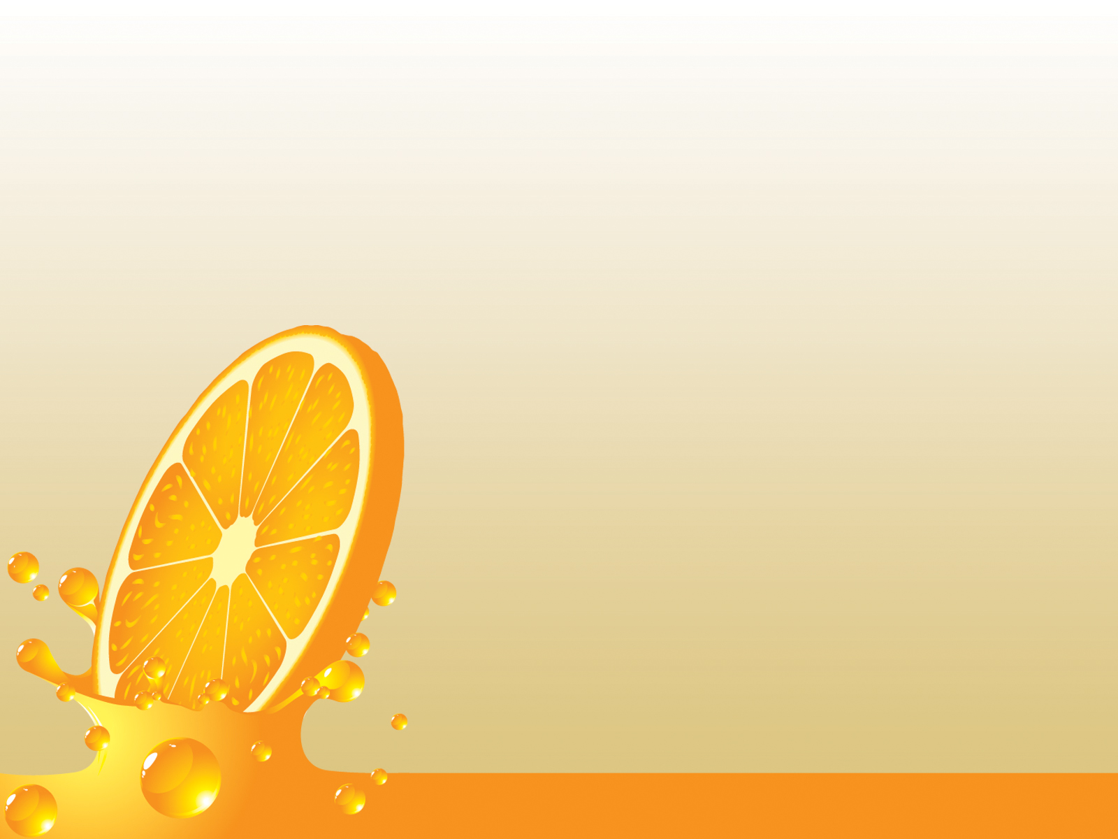 Orange splash powerpoint PPT Backgrounds