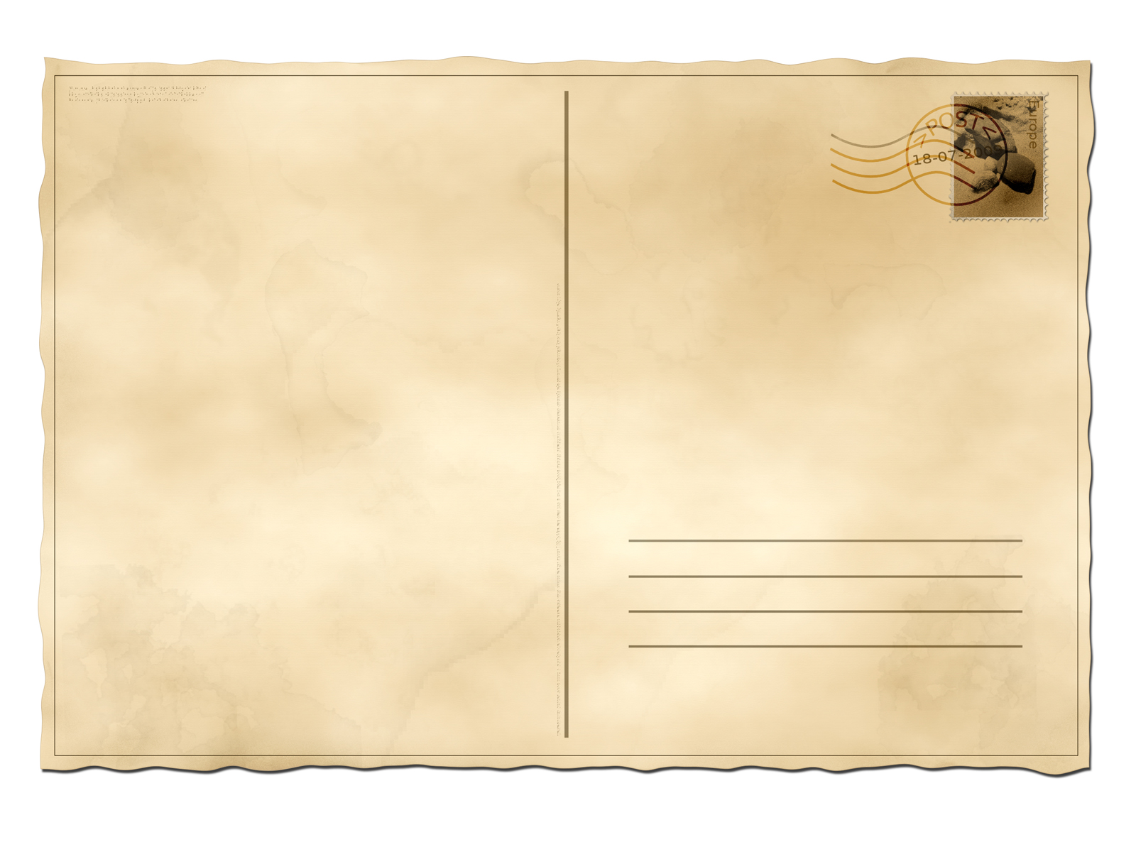 post card ppt backgrounds 1024x768 resolutions, post card ppt, Presentation templates