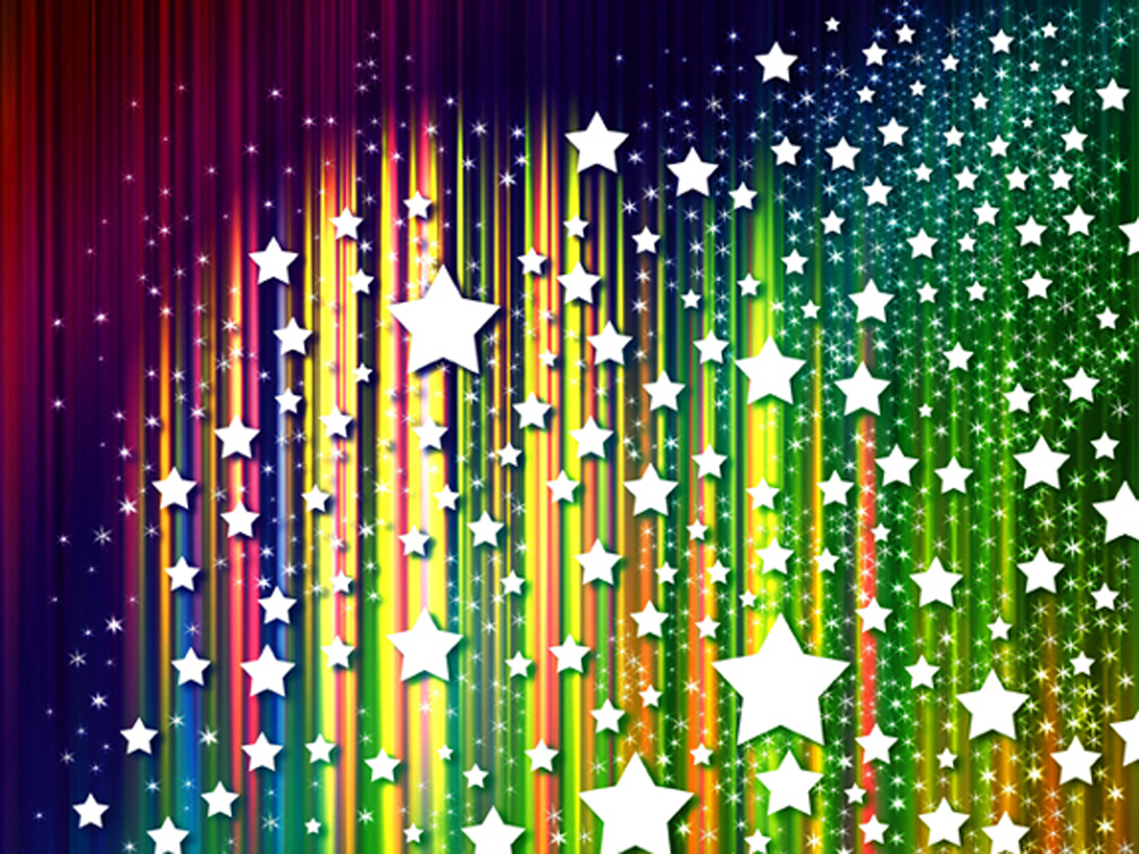 Spot light stars PPT Backgrounds