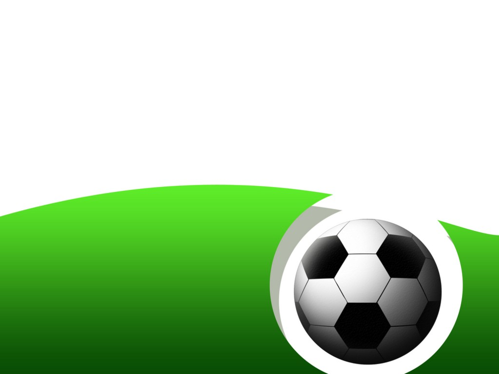 Abstract Soccer Frame PPT Backgrounds