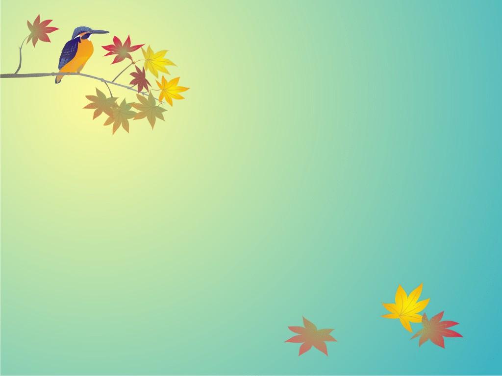 Free Animal Bird Background for Powerpoint Slides