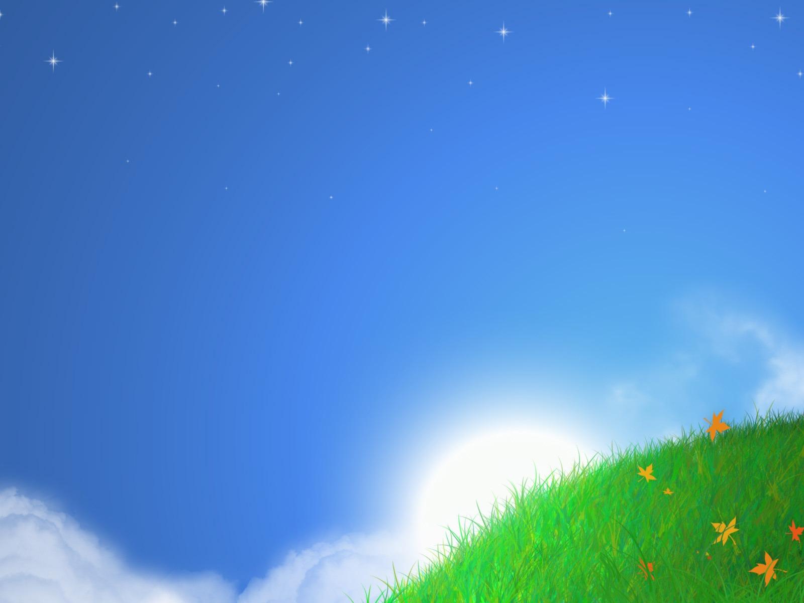 Artistic Sunrise PPT Backgrounds