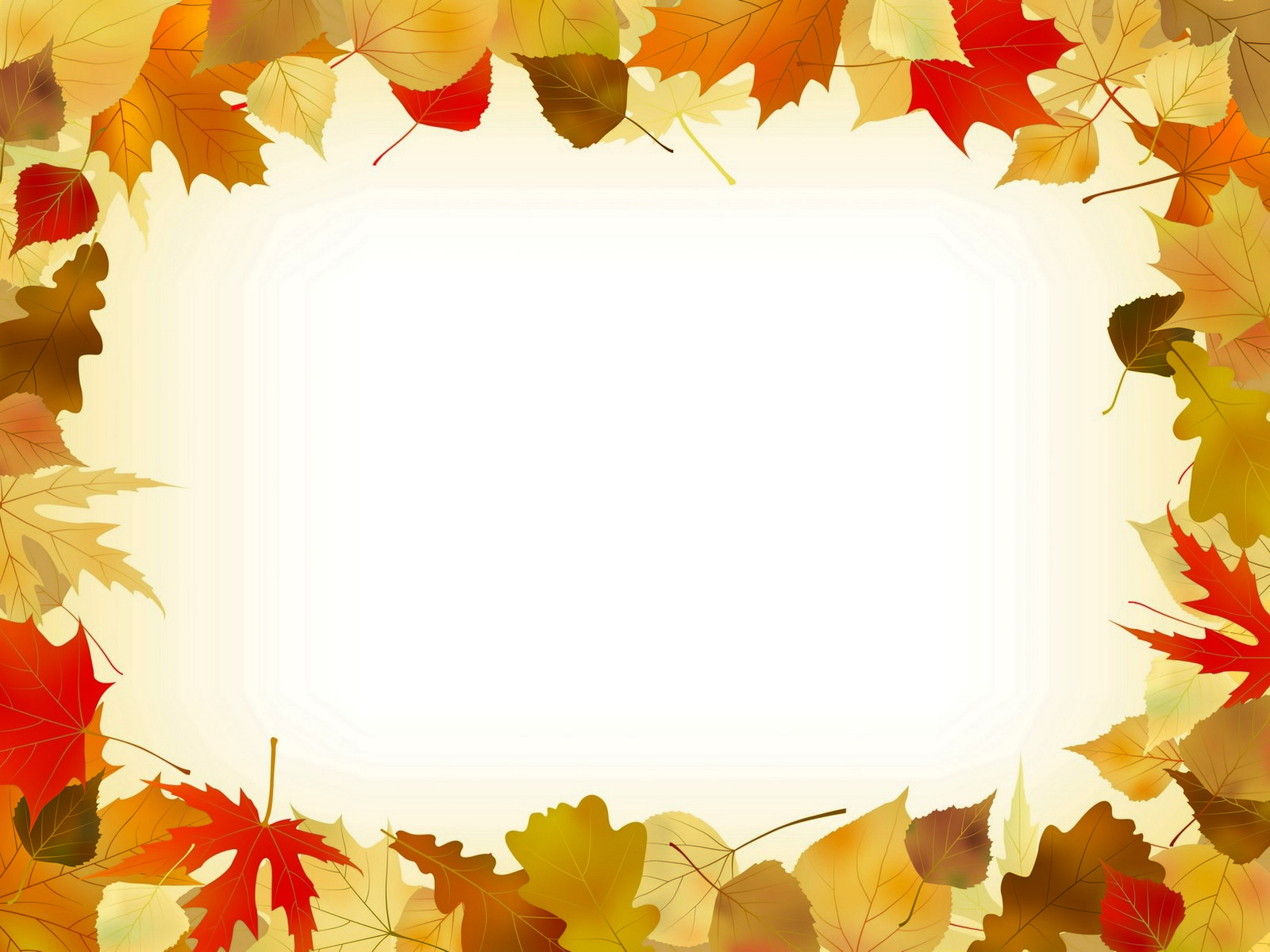 autumn leaves frame ppt backgrounds autumn leaves frame ppt