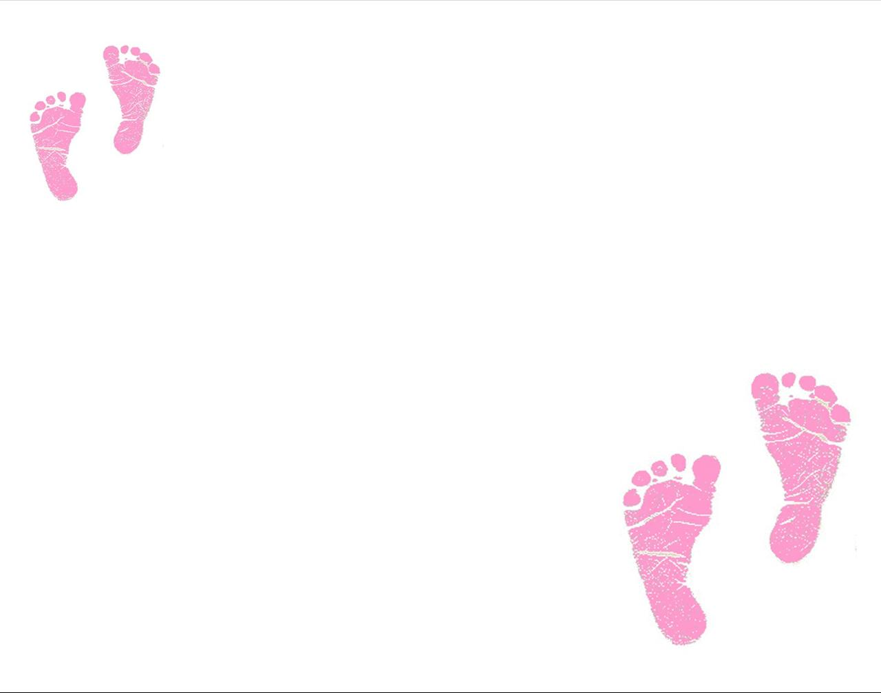 Free Baby Feet Background for Powerpoint Slides