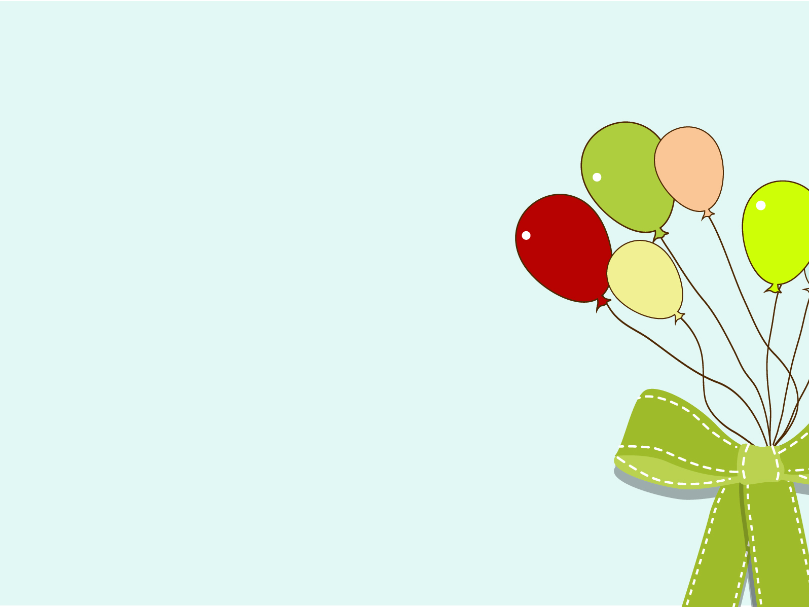 Balloon Rainbow PPT Backgrounds