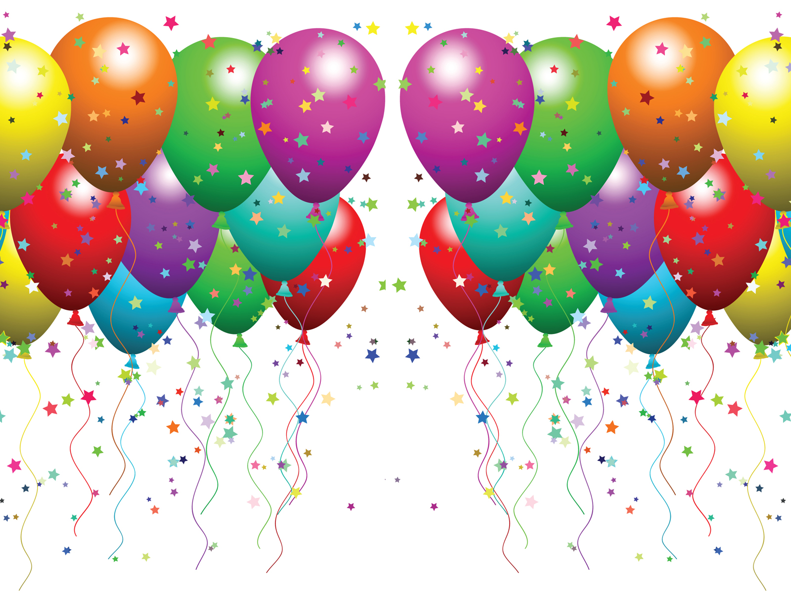 Free Balloons and confetti presentation Background for Powerpoint ...