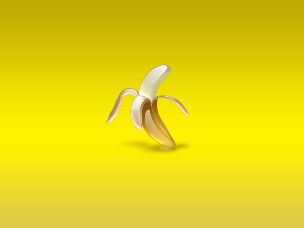 Banana Aqua design PPT Backgrounds