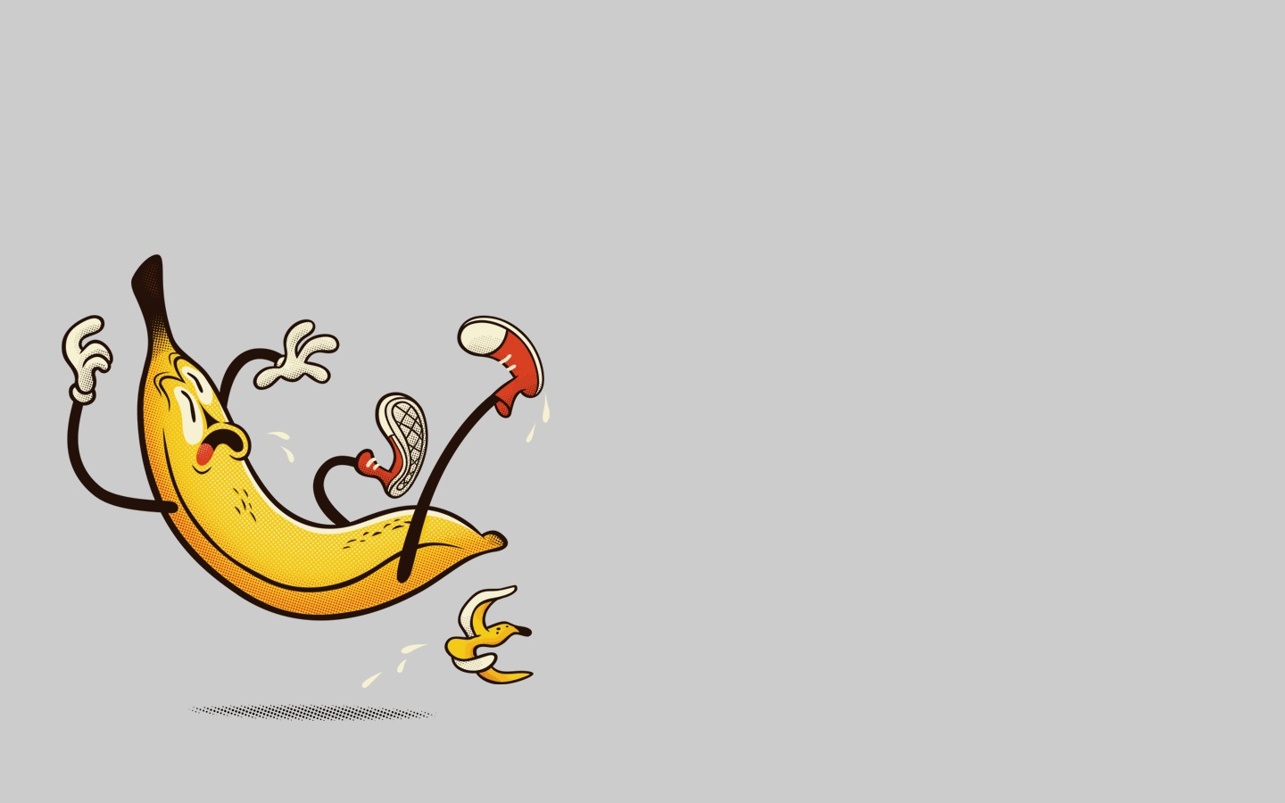 Banana PPT Background For Powerpoint Program