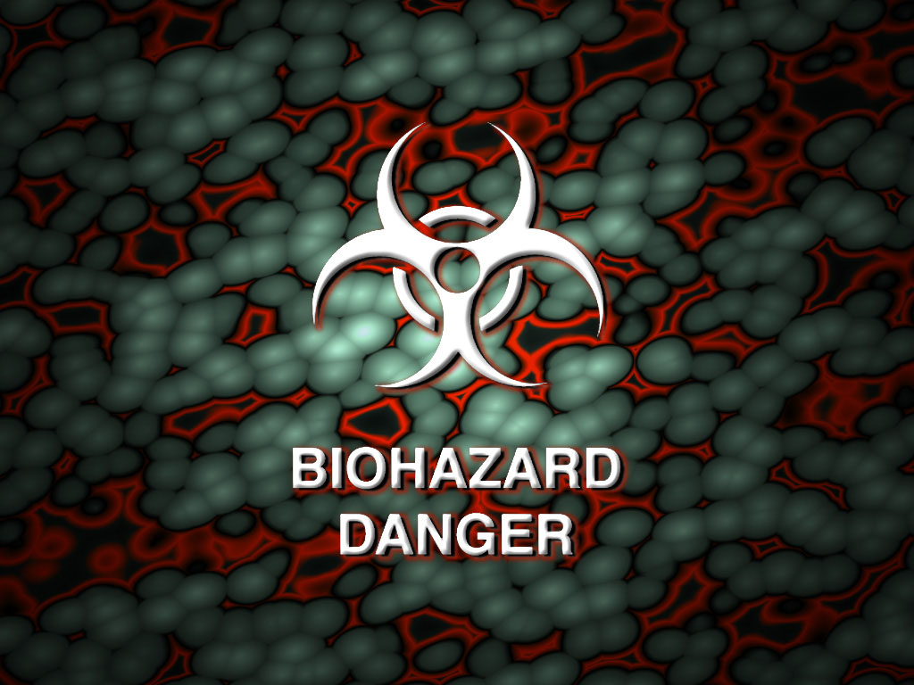 Biohazard Danger PPT Backgrounds