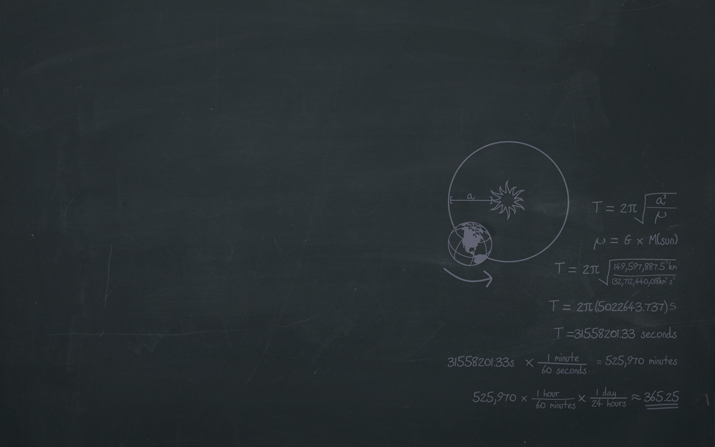 Black Board PPT Backgrounds