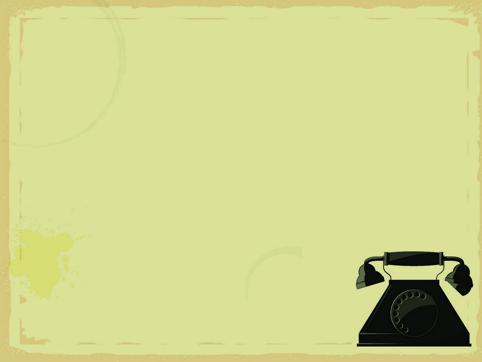 Black Telephone PPT Backgrounds