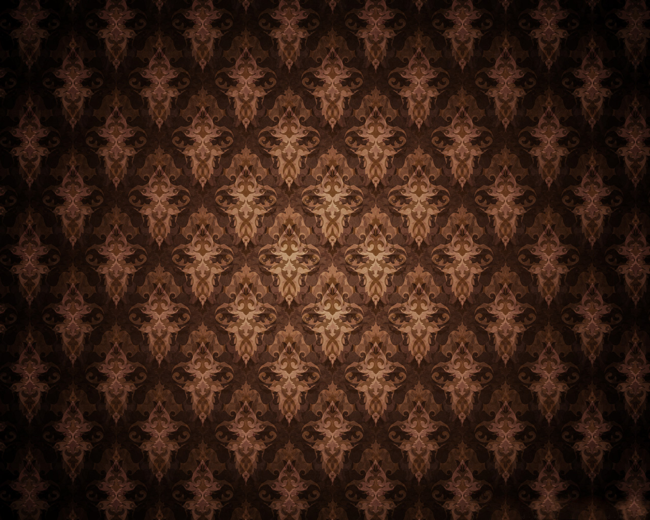 Brown antique PPT Backgrounds