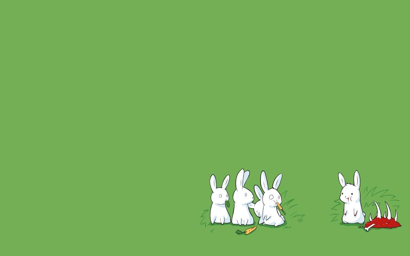 Bunny Rabbit  PPT Background Background for Powerpoint Program