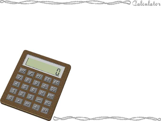 Calculator PPT Backgrounds