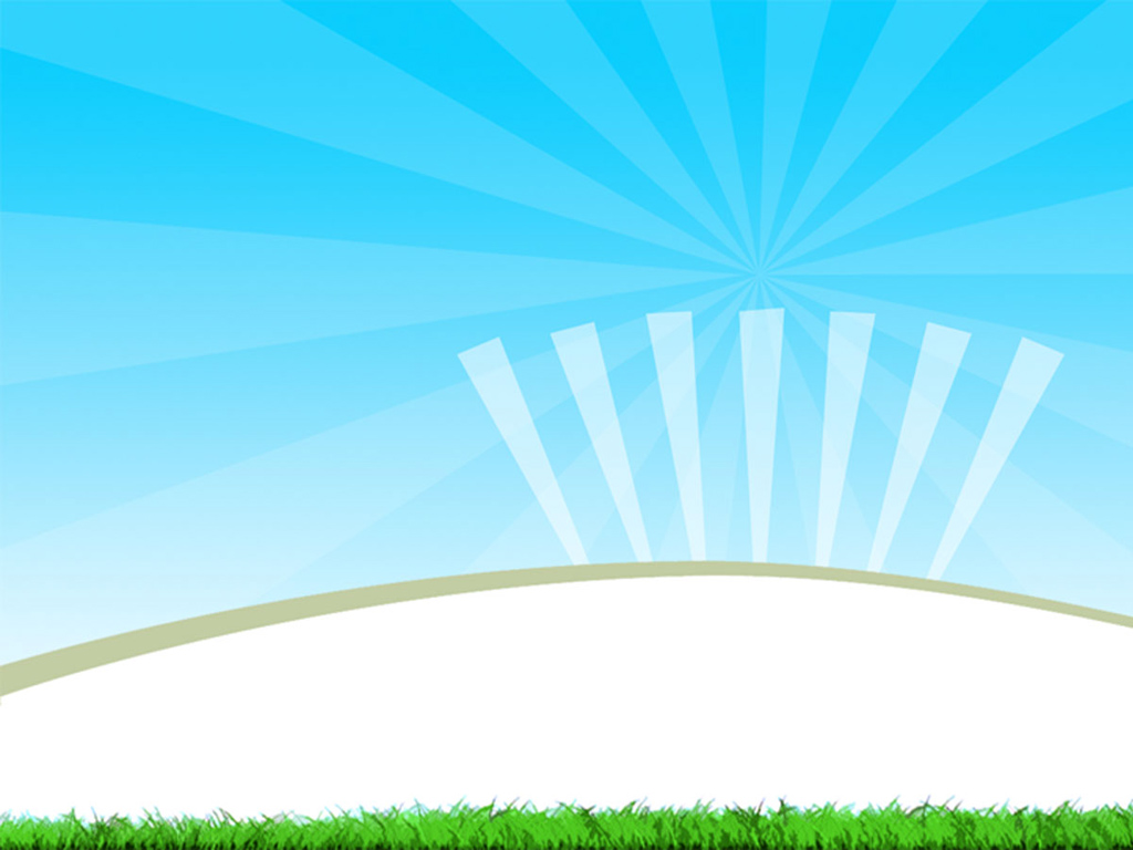 Cartoon Sunrise Background PPT Backgrounds