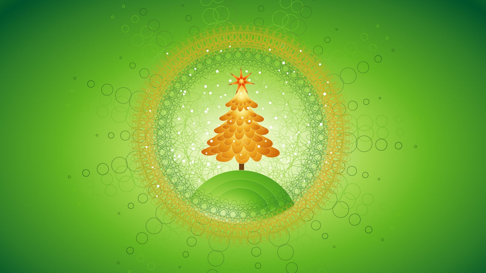Christmas 2012 Pattern Tree PPT Backgrounds
