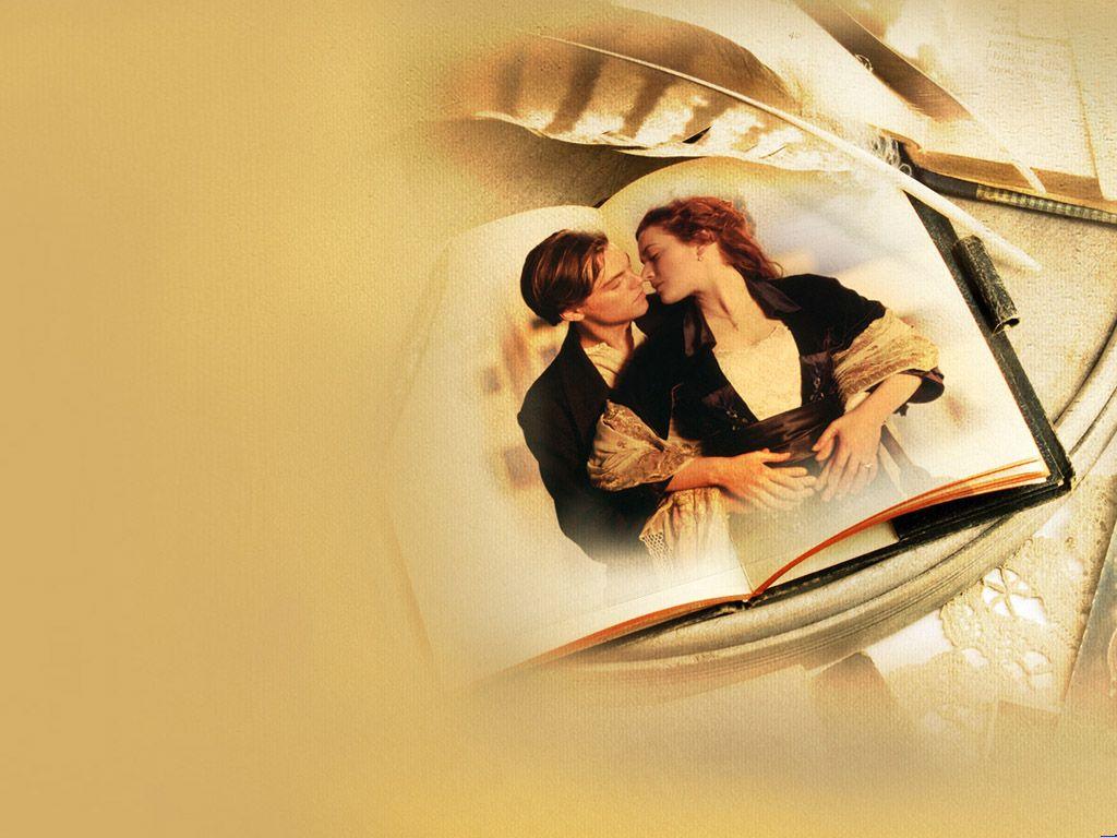 Classic Titanic Romantic Love PPT Backgrounds