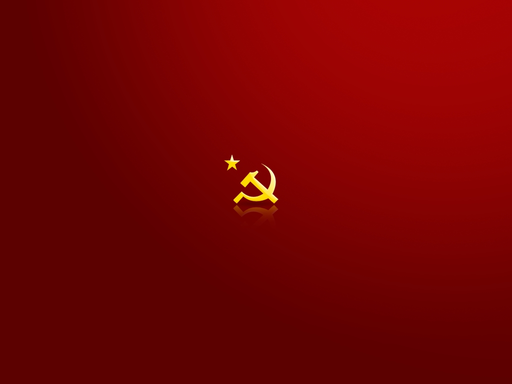 Communist Symbol PPT Backgrounds