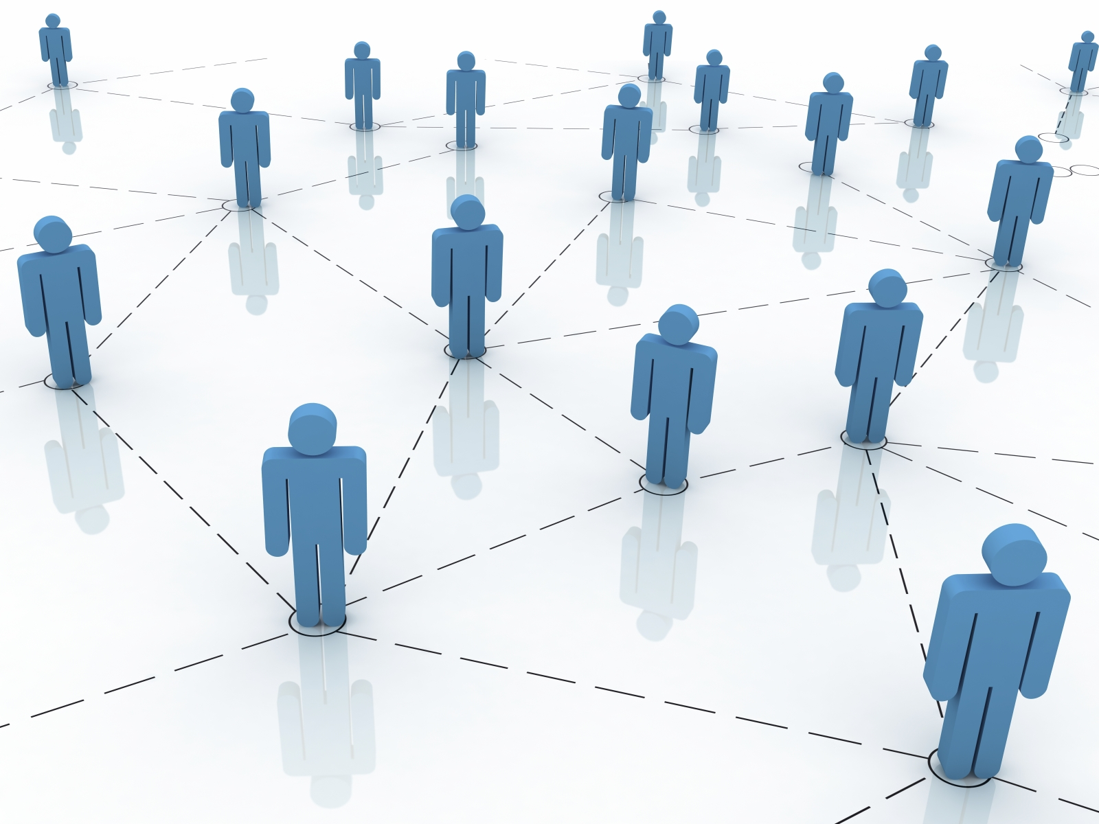 Connecting Business Network PPT Backgrounds