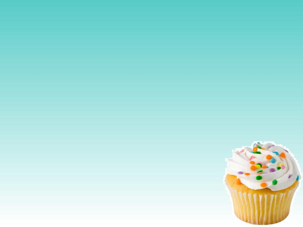 Cup Cakes PPT Backgrounds