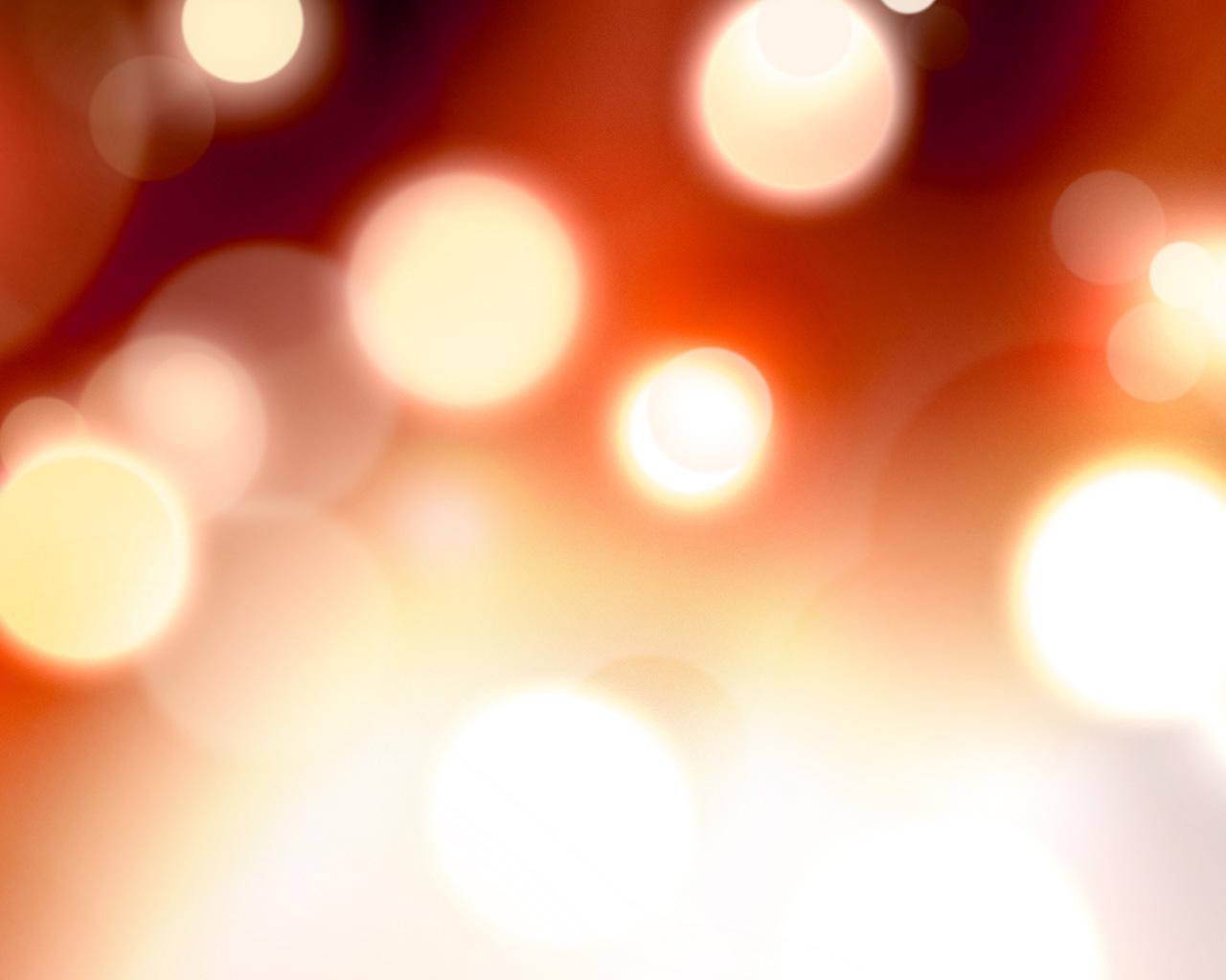 Defocused fire lights