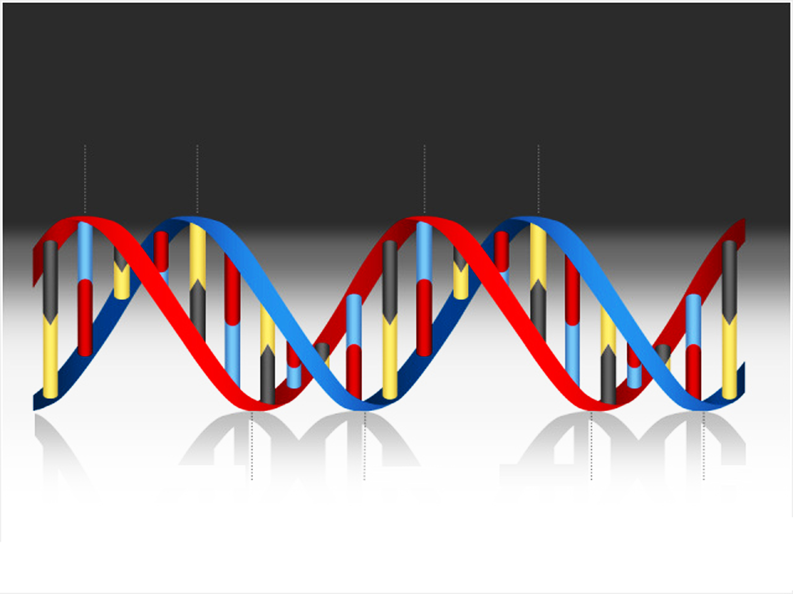 DNA Medical Helix PPT Backgrounds