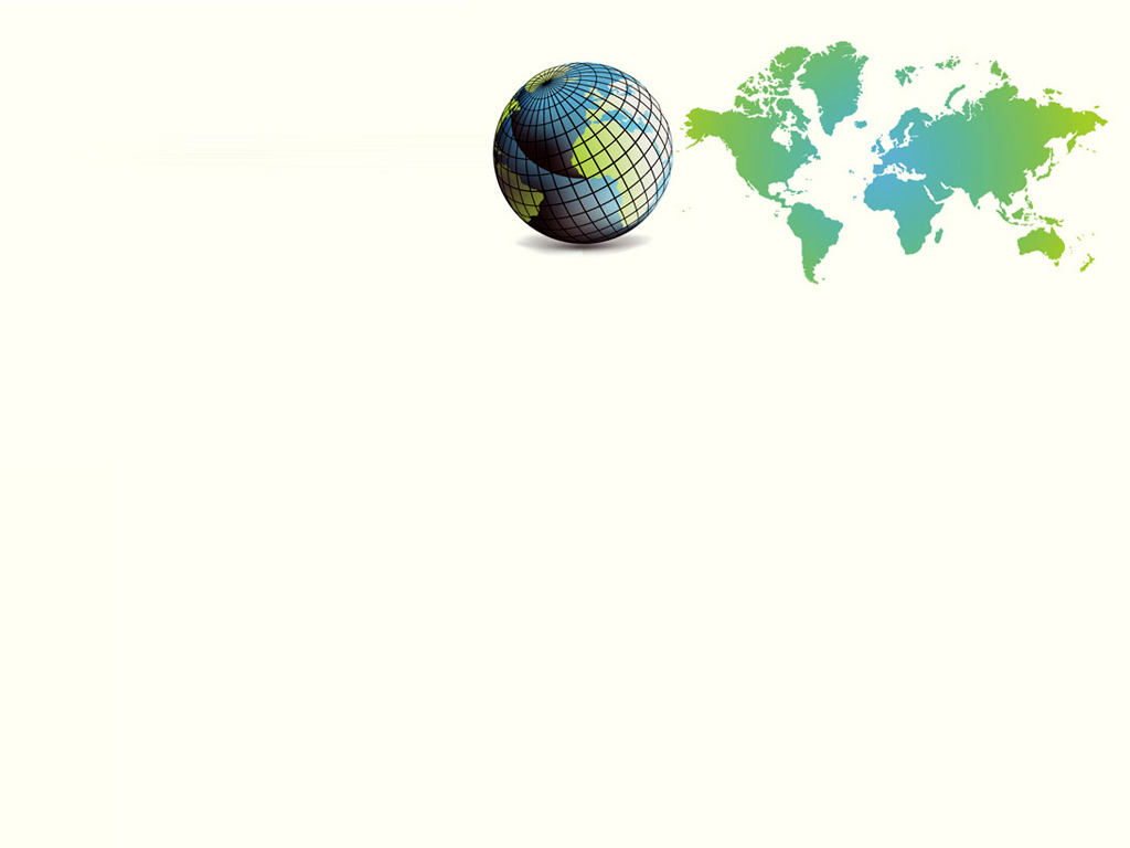 Earth world 3d vector PPT Backgrounds