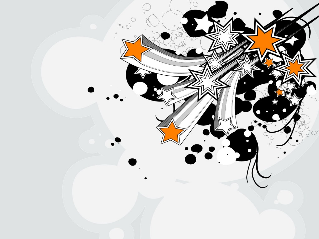 Fireworks Stars PPT Backgrounds