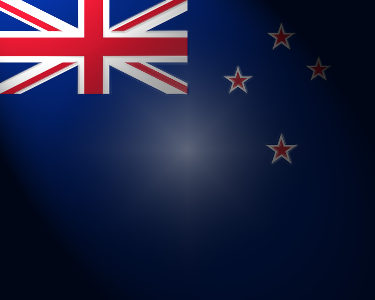 Flag of New Zeland PPT Backgrounds
