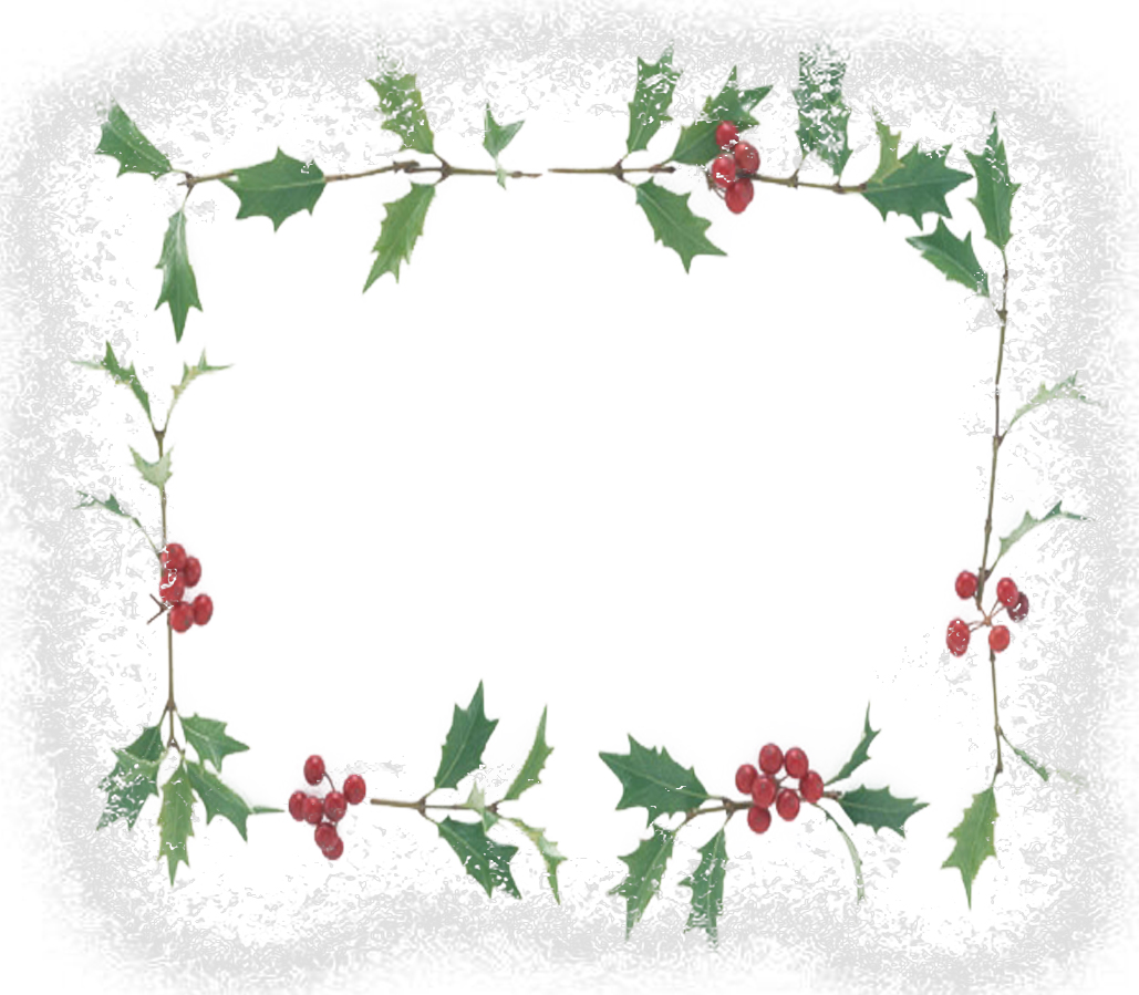 Flower christmas texture frame PPT Backgrounds