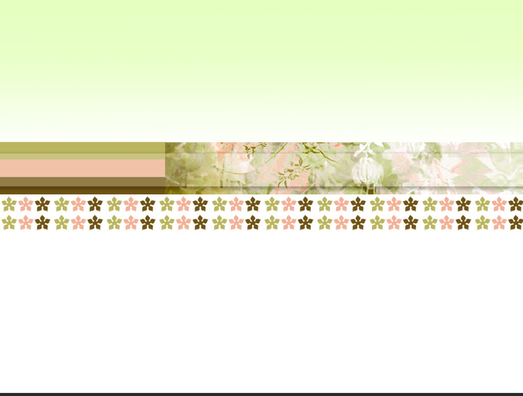 Flower Pattern PPT Backgrounds
