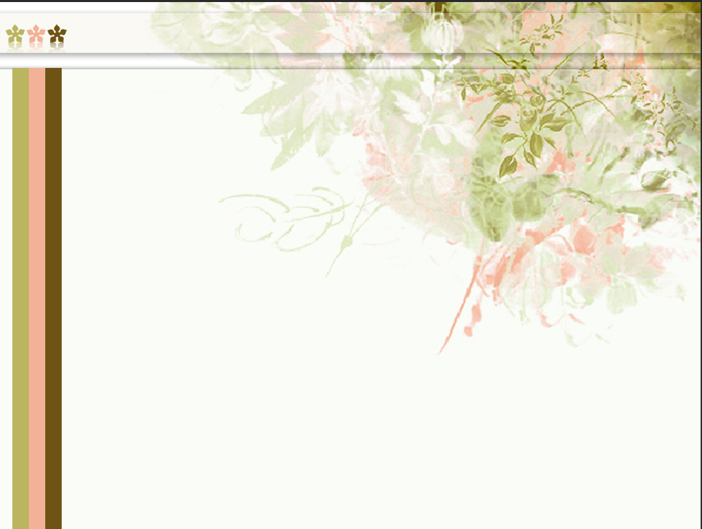 Flowers Pattern PPT Backgrounds