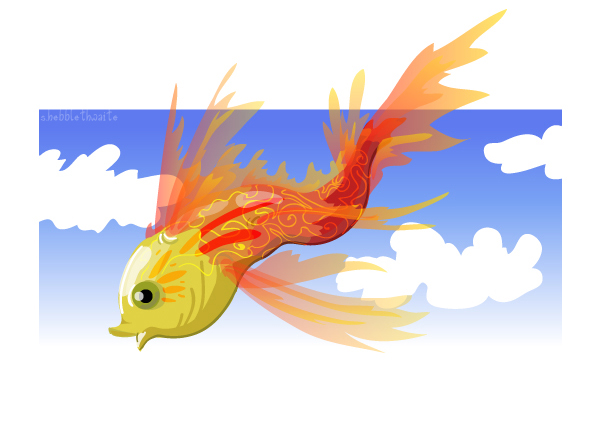 Flying Fish PPT Backgrounds