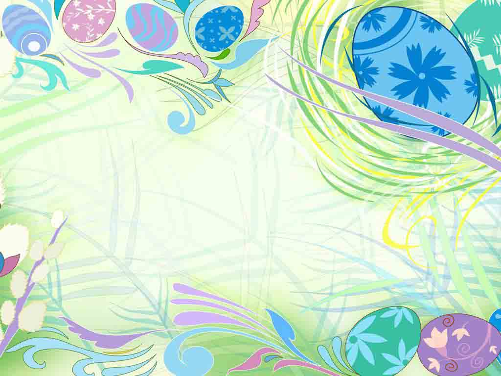 Free Free Easter Background for Powerpoint Slides
