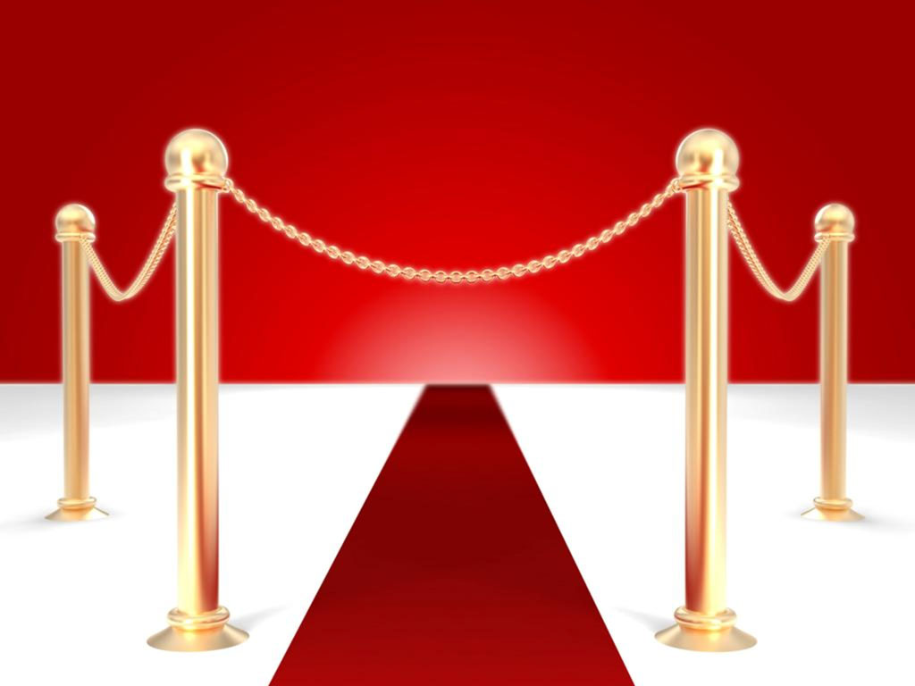 Red Carpet PPT Backgrounds 1024x768 Resolutions