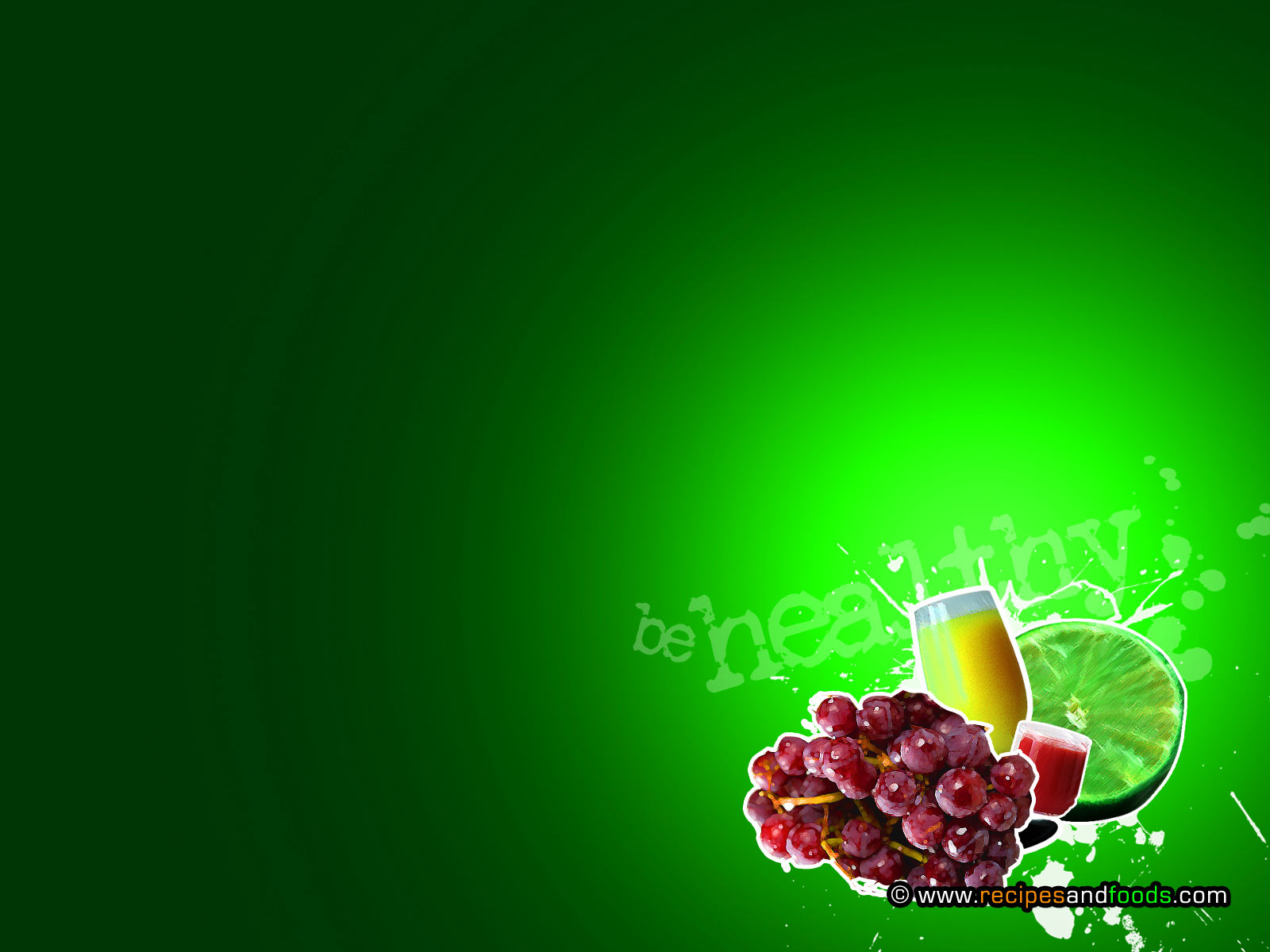 Fruits Foods PPT Backgrounds