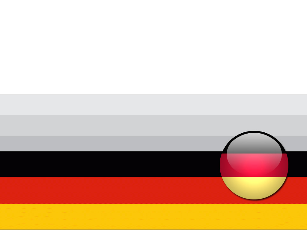 Germany Flag PPT Backgrounds
