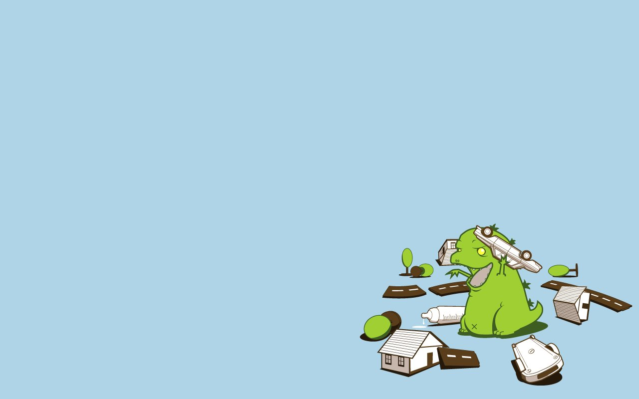 Godzilla Baby PPT Backgrounds