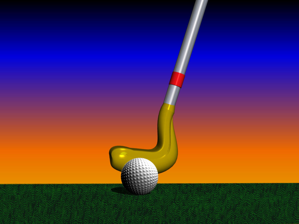 Sport of Golf PPT Backgrounds