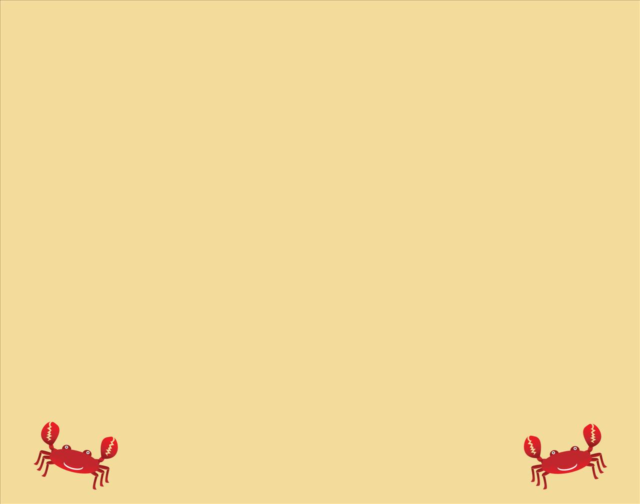 Happy Crabs PPT Backgrounds