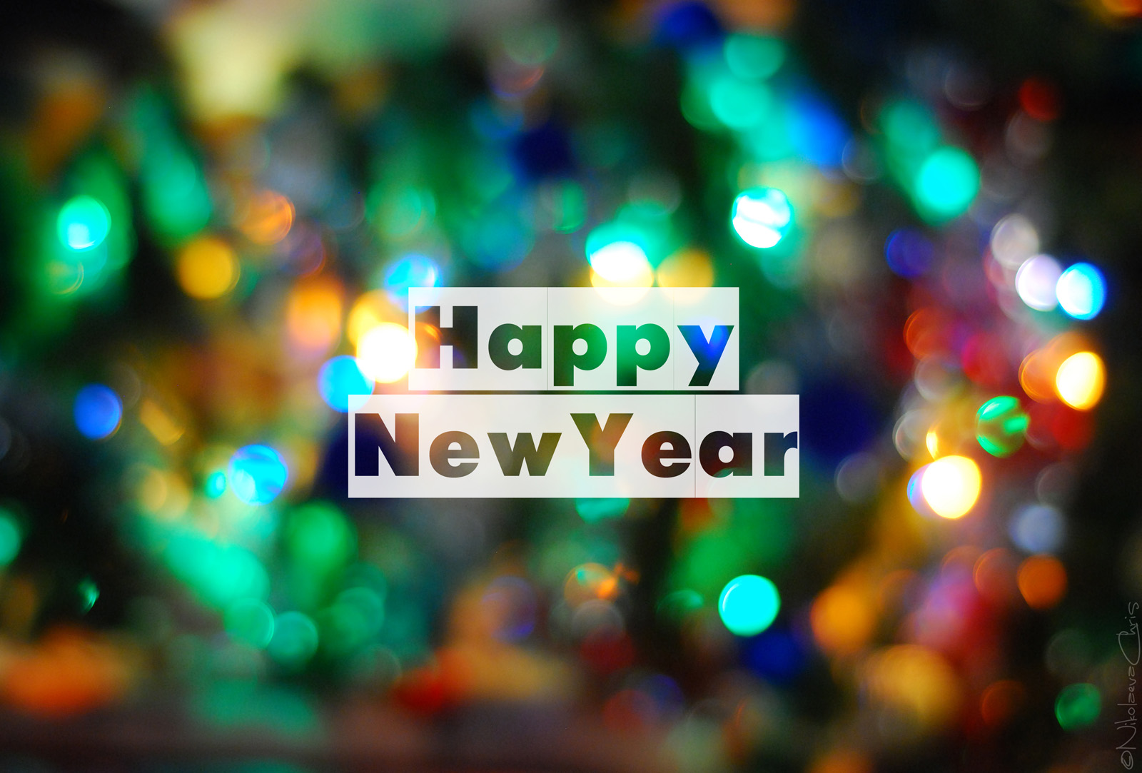 Happy New Years PPT Backgrounds