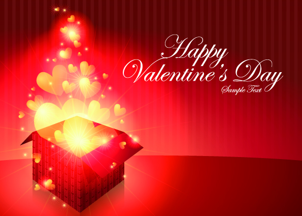 Happy Valentine Day 2012 PPT Backgrounds